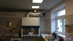 Nemocnice Trutnov - laminátovací box